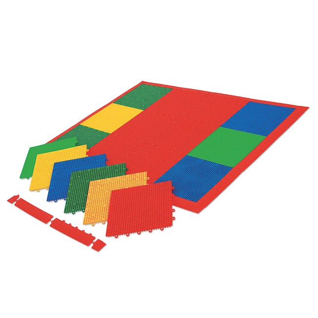 Vinex Modular Sports Flooring Tiles - Club