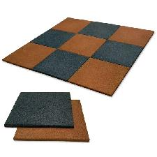 Vinex Rubber Flooring Tiles