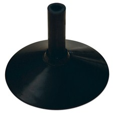 Black Rubber Base - Heavy
