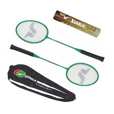 Vinex Badminton Racquet Set - Gold