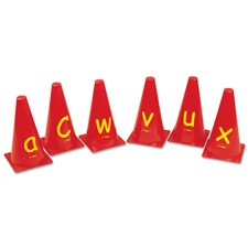 Vinex Alphabet Cones