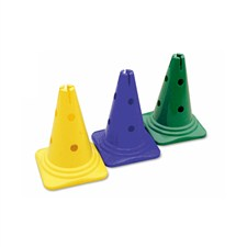 Vinex 12 Inch Hat Shaped Cone Markers (With Hole)