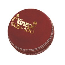 Vinex Cricket Leather Ball - Gold
