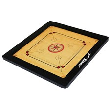 Vinex Carrom Board - Club (Full Size, 2 Inch Border)
