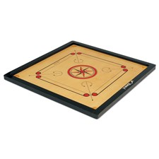 Vinex Carrom Board - Super (Small Size, 1.5 Inch Border)
