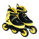 Vinex Inline Skates - Sonic (Adjustable, Yellow / Black)
