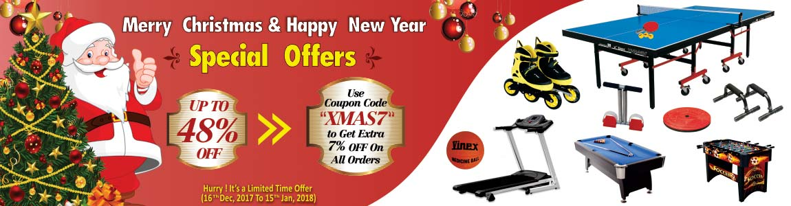 Merry Christmas & New Year Offers
